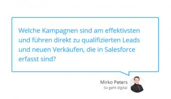 Vorteile der Salesforce Integration bei Google Ads