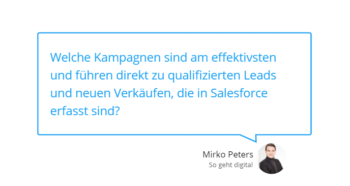 Vorteile der Salesforce Integration bei Google Ads