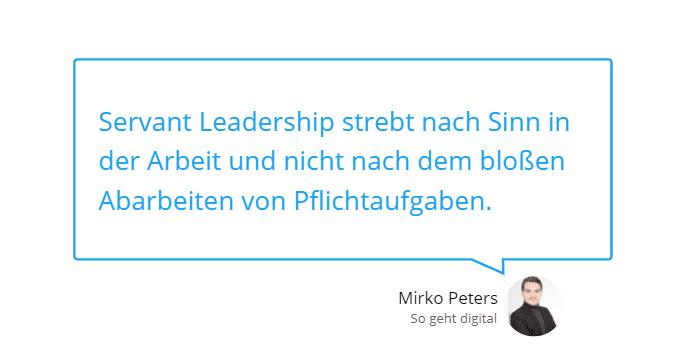 Servant Leadership – Schluss mit veralteten Führungsansätzen