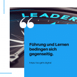 Führung und Lernen bedingen sich gegenseitig small
