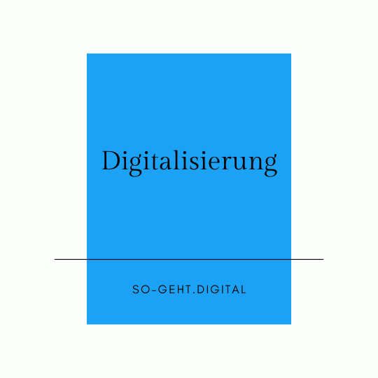 Thema Digitalisierung large