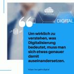 Um wirklich zu verstehen was Digitalisierung bedeutet muss man sich etwas genauer damit auseinandersetzen. small